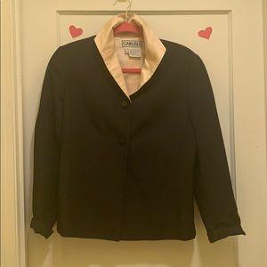 Satin lined vintage jacket